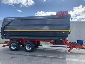 Agrofyn Trailers 15 tons bagtipvogn