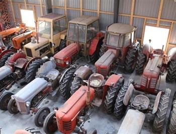 ldre blandede traktorer