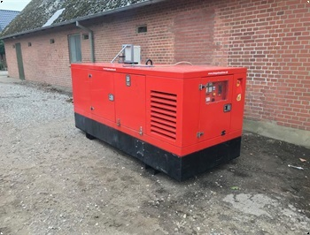 Iveco 100 kw  generator  ndstrm