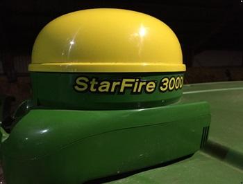 John Deere STARFIRE 3000 SF1 opgradering fra ITC