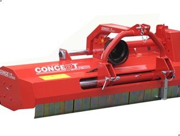 Concept Perugini PT180 Slagleklipper m Hydraulisk sideforskydning