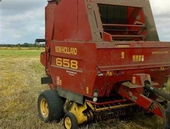 New Holland 658 Rundballepresser