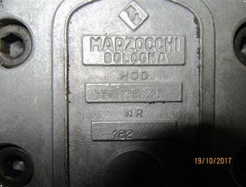 Marzocchi Bologna Dobbelt pumpe