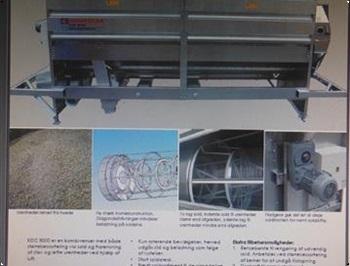 Kongskilde KDC 8000 Overgemt lagersalg