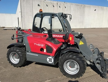 Weidemann T4512 rg 2019  1 time