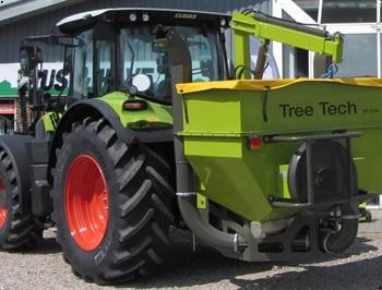 Tree Tech TS 2500 AirMatic Udstyrsmodel komplet med kran