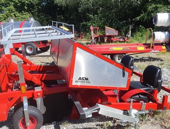 ASM stervang 2 rk plantemaskine kraftig