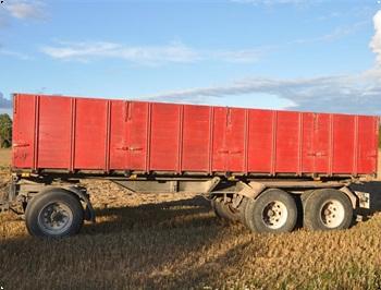 Ukurant Anhnger 3akslet KBES 1520 tons