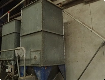 Silo indendrs 115 tons