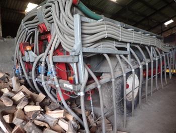 PEDO Gyllevogn 12 ton 16 m