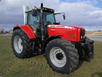 Massey Ferguson 7495 Dyna VT Med HEVA frontlift