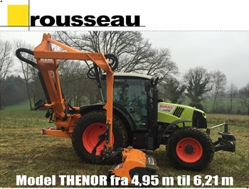 Rousseau THENOR armklipper