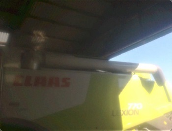 CLAAS LEXION 770 Tmme snegl til 25  30 fod