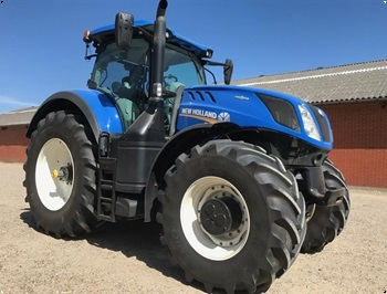 New Holland T7315 Auto Command rg 2017  kun 1100 timer