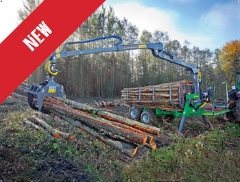 Farma 67G3  9F skovvogn Ny model til kampagnepris
