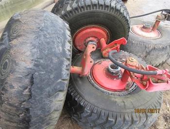 Belarus Komplet hjul nav med bremser