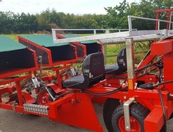 ASM stervang 2 rk plantemaskine kraftig Med plantehjul forberedt til GPS