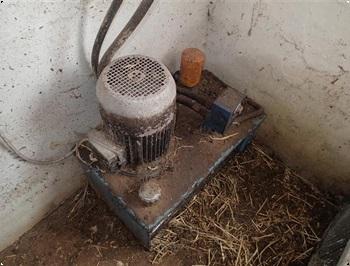 hydrstation til udmugning