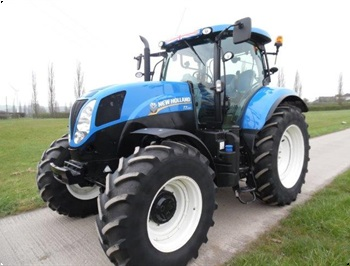 New Holland T7210 rgang 2014 med kun 1303 timer