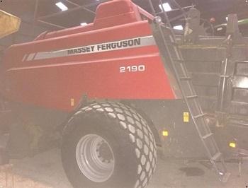 Massey Ferguson 2190 Kun 13325 baller