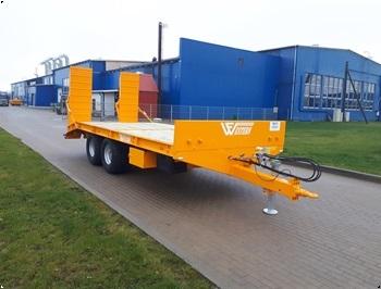 Western WF512BT Kvalitets Maskintrailer