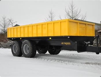 BS 18 tons entrep  jord vogn