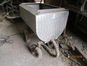 Rustfri vandvogn