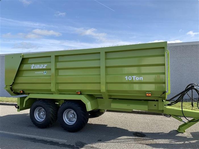 Tinaz 10 tons bagtipvogn