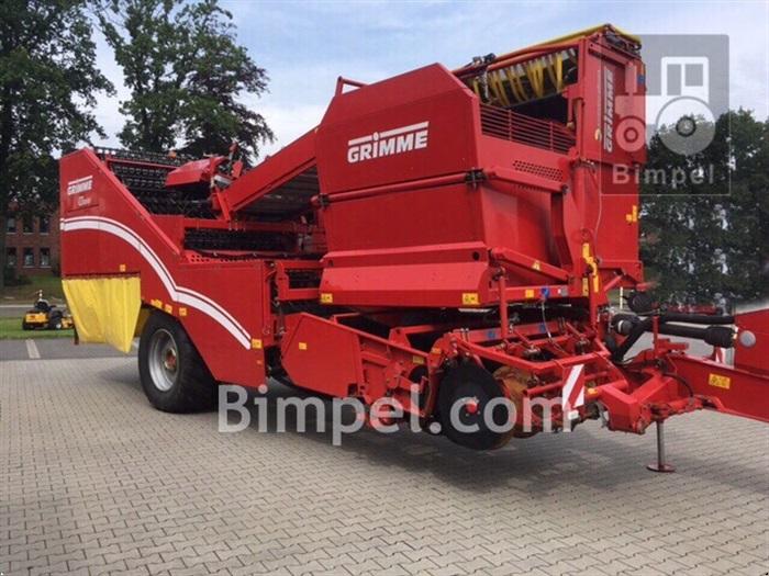 Grimme SE 150-60 med hjultræk