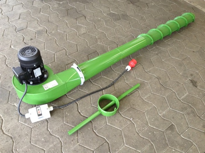 Crocus Korn-Belufter m/motorværn+stik