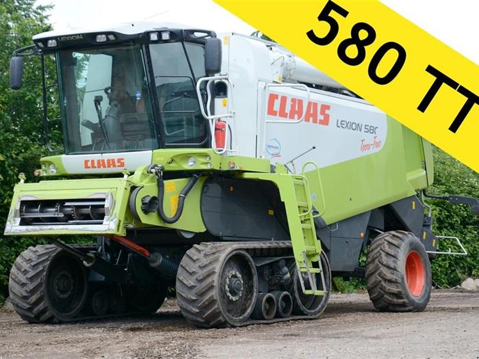 CLAAS 580 Terra Trac / bælter