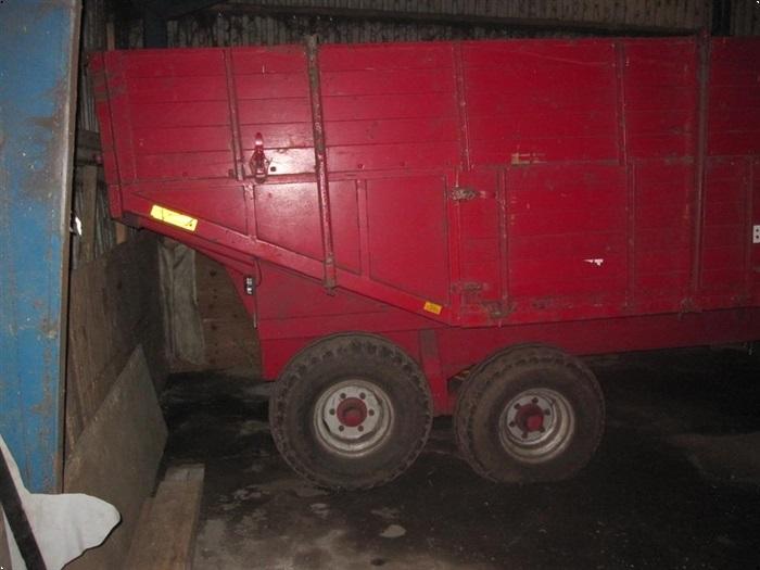 Baastrup 7 ton, halv-højtip