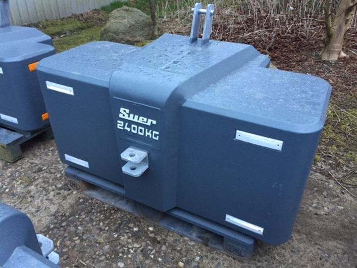 Suer 2400 kg ultra kompakt - www.suer.dk