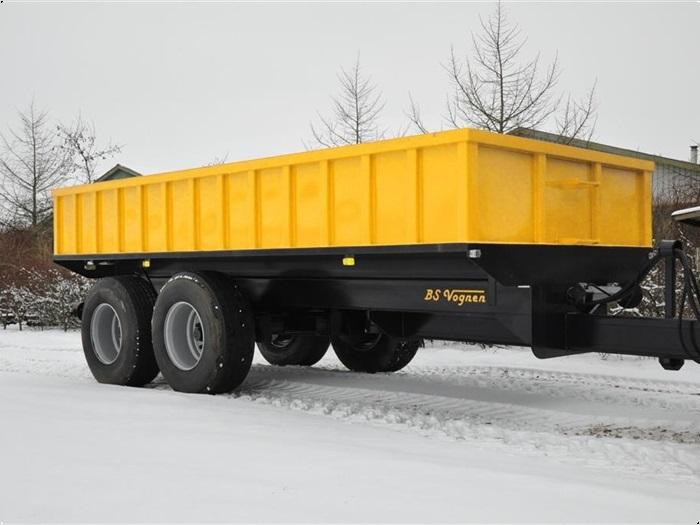 BS 18 tons entrep / jord vogn