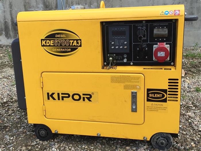 Kipor kde6700ta3 diesel